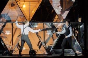 """Сцена из спектакля """"Сирано де Бержерак""""  Театра кукол Карелии. Фото Михаила Никитина"""