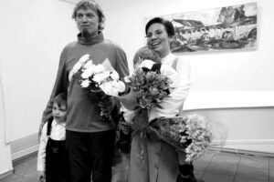 Надежда Белая и Алексей Лебедев. Фото Ирины Ларионовой
