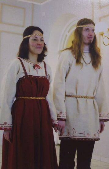 Надежда Белая и Алексей Лебедев. Фото из семейного архива