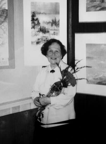 Мария Александровна Попова в Петрозаводске. Фото из архива Людмилы Папушой