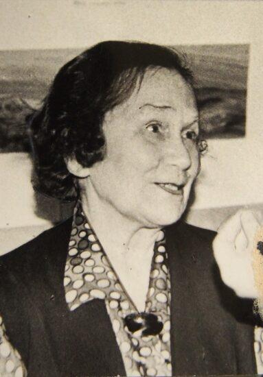 Мария Александровна Попова. Фото из архива Людмилы Папушой