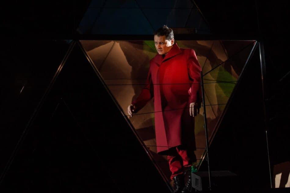 Сцена из спектакля «Сирано де Бержерак» Театра кукол Карелии. Фото Михаила Никитина
