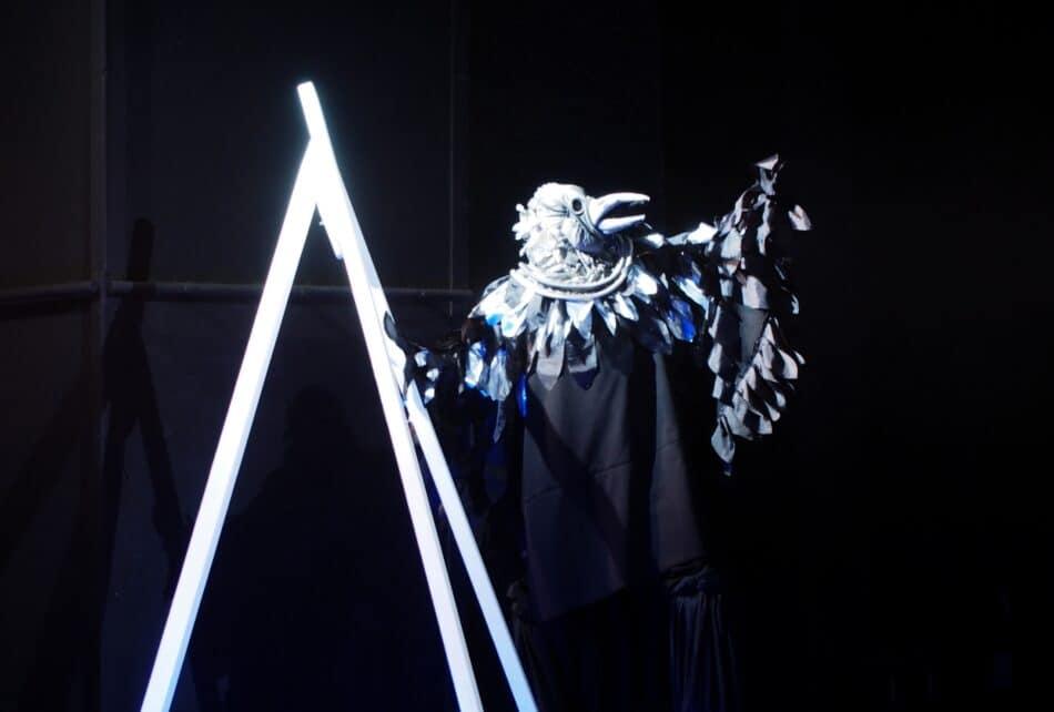 Сцена из спектакля «Снежная королева» в Национальном театре Карелии. Фото Ирины Ларионовой
