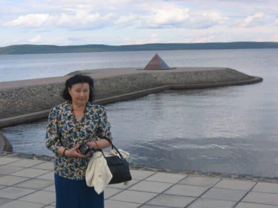 Альбина Алексеевна Разумова. 2008 год