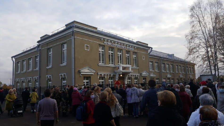 В 2020 году у Национального музея Карелии появился новый филиал – Музей Карельского фронта