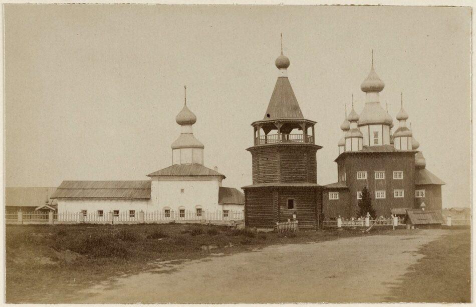 Церковный ансамбль в селе Сумский Посад (Беломорский район). 1887 год