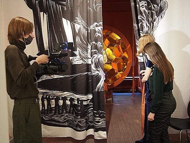 Экспозиция «Вселенная Калевала» в Музее изобразительных искусств Карелии. Фото Ирины Ларионовой