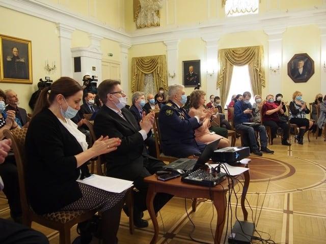 На презентации издания в Национальном музее Карелии. Фото Ирины Ларионовой