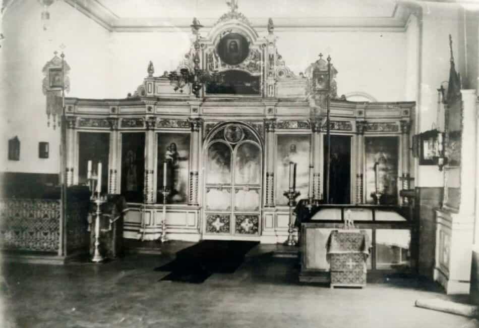Домовая церковь Олонецкой мужской гимназии Петрозаводска. Фото из архива Музея ИЗО РК
