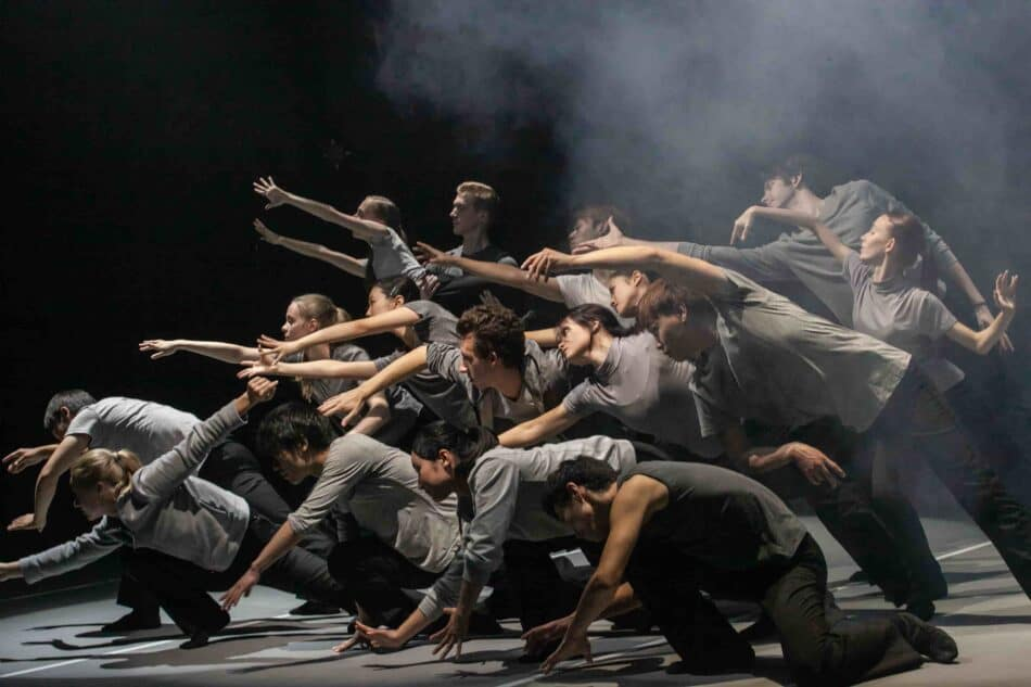 Балет «Другие» на музыку Харри Вессмана. Фото Музыкального театра РК