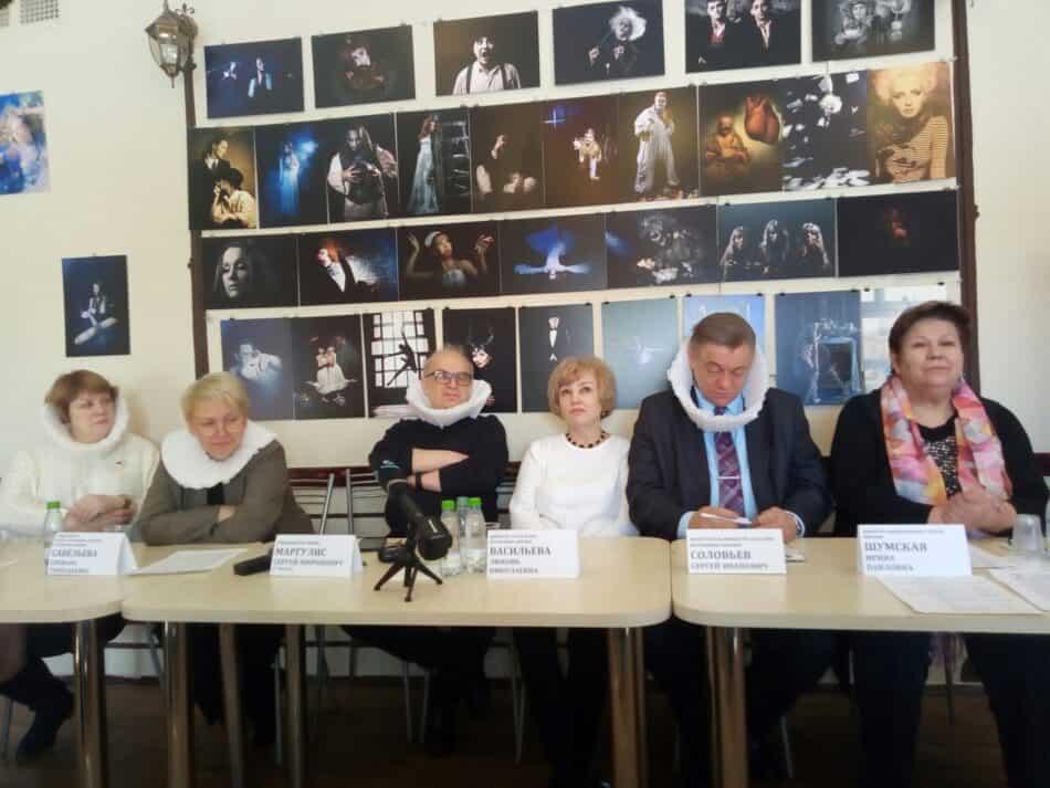 На пресс-конференции в Доме актера 23 марта 2021 года