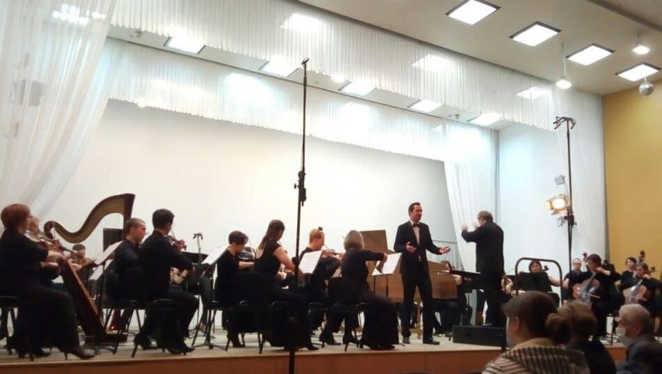Концерт к 85-летию классика карельской музыки, композитора Эдуарда Патлаенко в Карельской государственной филармонии. Фото Натальи Мешковой