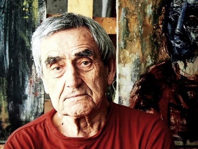 Рауль Скрылёв. Фрагмент портрета Павла Никонова
