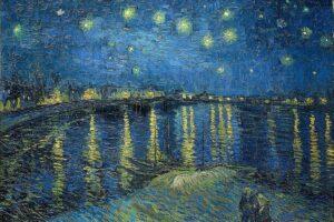 Винсент ван Гог. Звездная ночь над Роной