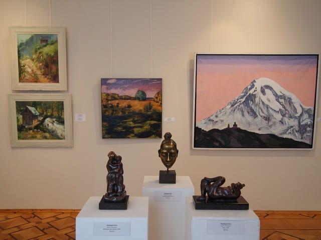 В Музее изобразительных искусств Карелии открылась 5-я выставка «Палитра Грузии»