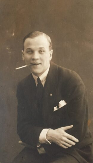 Неизвестный из фотоальбома Мальмберга. Фото из личного архива О. Вольфовича