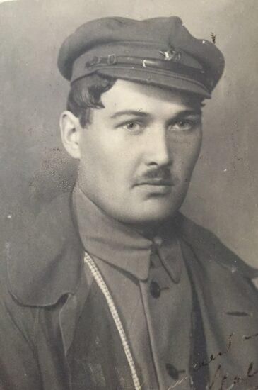 Уно Мальберг (09.11.1895 - 26.10.1937). Фото из личного архива О. Вольфовича