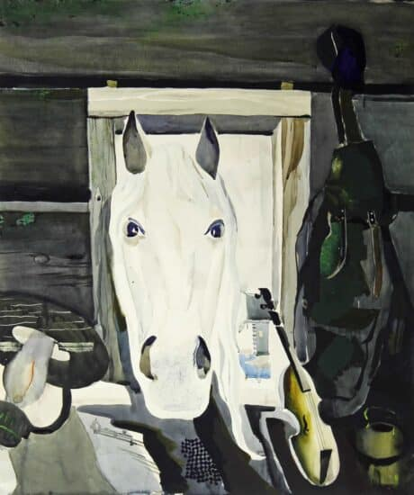 Александр Харитонов. Белая лошадь. 1975