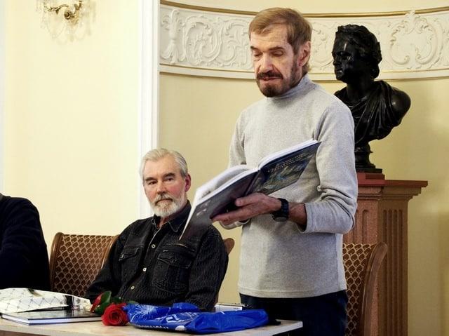 Сергей Чиненов (слева) и Виталий Наконечный