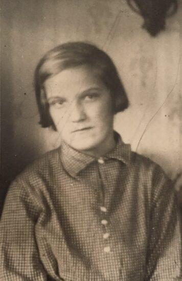 Валя Мальмберг. Фото из личного архива О. Вольфовича