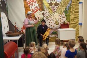 В музее «Кижи» провели День многодетной семьи
