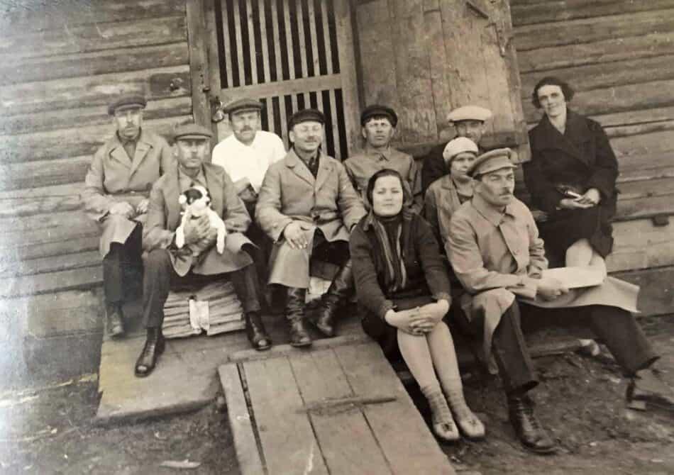 На строительстве ГЭС Фото из личного архива О. Вольфовича