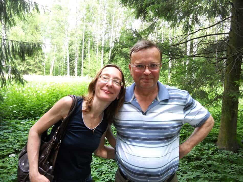 Елена и Михаил Вознесенские