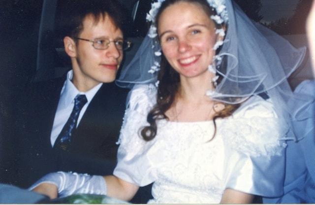 В день свадьбы. Фото из семейного архива Михайловых