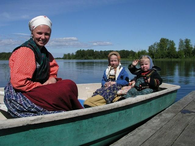 В первый год работы на острове Кижи. Фото из семейного архива Михайловых