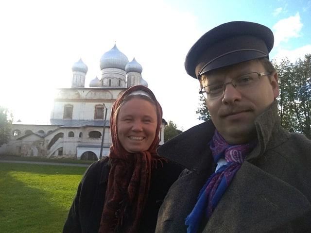 В Новгороде Наталья и Евгений отмечают 22 года со дня бракосочетания
