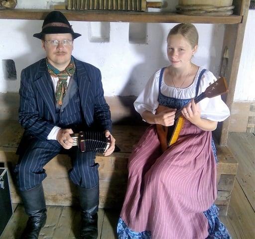 Евгений Петрович с дочерью Екатериной. Фото из семейного архива Михайловых