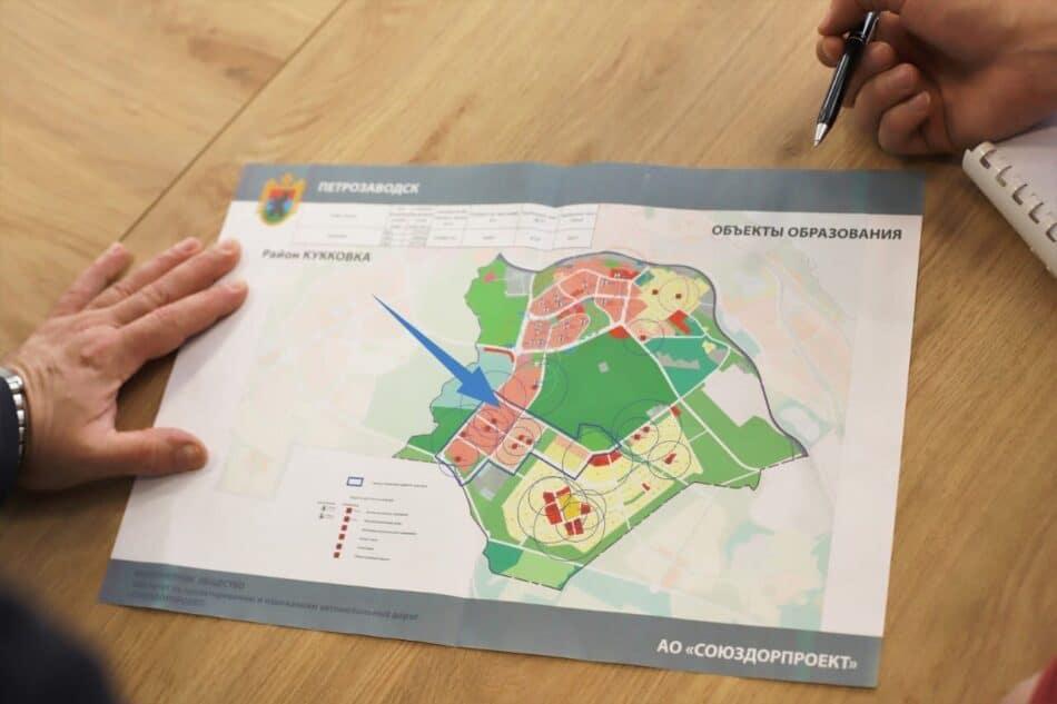 Кукковка - предполагаемое место для строительства школы-интерната. Фото МОиС РК