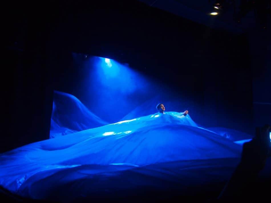 Спектакль «О рыбаке и рыбке» в Театре кукол Карелии. Фото Ирины Ларионовой