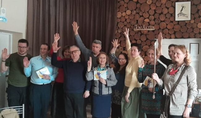 """Жюри """"Онежской маски"""" 2021 года. Фото СТД Карелии"""