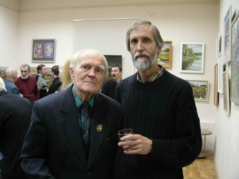 А.Трифонов и Г.Стронк. Начало 2000-х. гг. P1012330-min