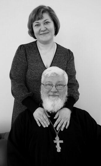 Ольга и Евгений Барышевы. Фото Ирины Ларионовой