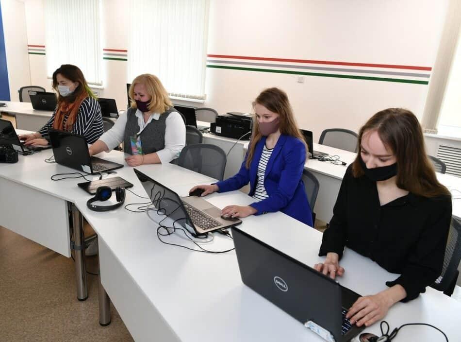 В Карелии пишут Цифровой диктант. Апрель 2021 года. Фото со страницы Ивана Степанова