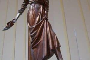 Павел Калтыгин. Эскиз памятника Ирине Федосовой. Фото Ирины Ларионовой