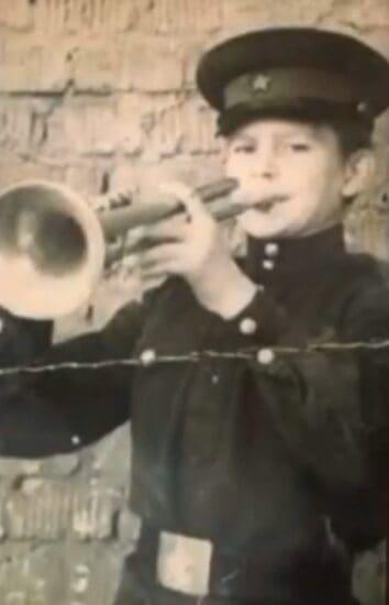 Владимир Орлов в Ростовской школе музыкальных воспитанников Советской Армии