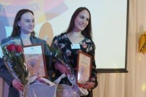 Победители – София Петрова (слева) и Ольга Шукалович. Фото: Мария Голубева