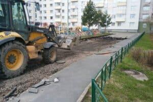Ремонт двора в Петрозаводске. Фото из группы vk.com/ptz_mo
