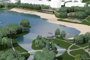 В Петрозаводске реконструируют Зарецкий парк