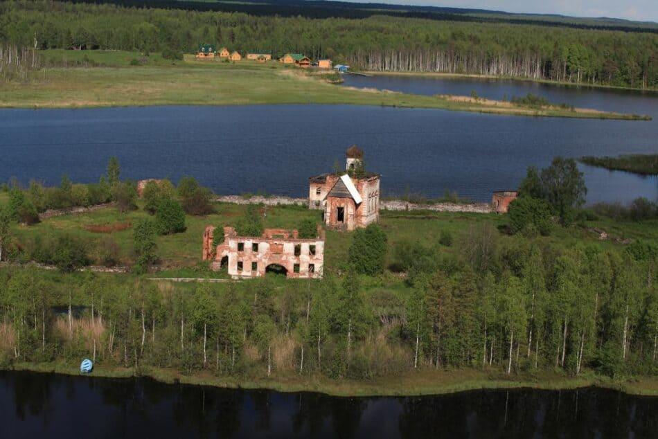 Ландшафтный  памятник природного значения «Яшезеро» в Прионежском районе Карелии