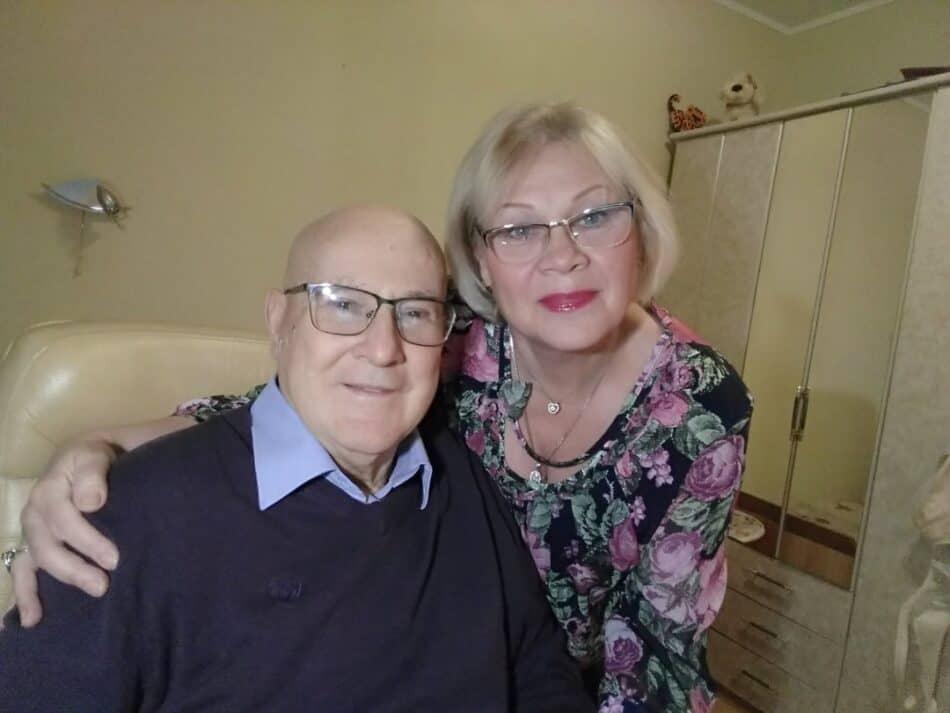 С мужем Эдмундом Эдмундовичем Белковским. Фото из личного архива