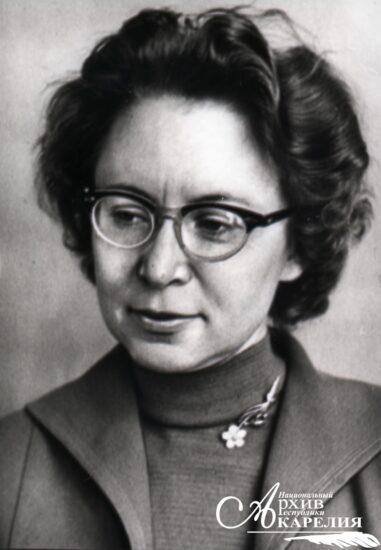 Ирина Петровна Лупанова (1921 - 2003). Фото: Национальный архив РК