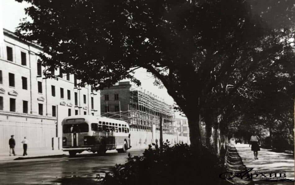В Петрозаводске. Примерно 1949-1951 год. Фото Петра Беззубенко, Национальный архив РК