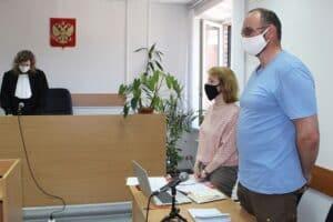 Сергей_Филенко в суде 3 июня 2021 года. Фото: Валерий Поташов/stolicaonego.ru