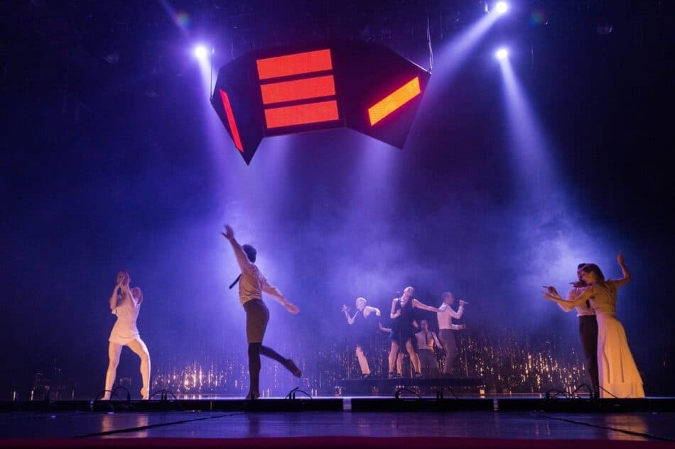 Фестиваль открыла «Танцпол», театр «Балет Москва». Фото Виталия Голубева
