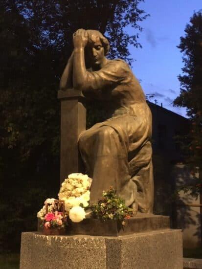 Памятник Марине Цветаевой в Москве. Фото Бориса Мансурова