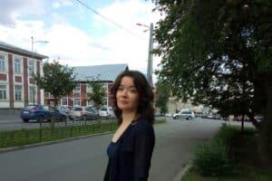 Ольга Жёлтикова в Петрозаводске. август 2021 года. Фото Натальи Мешковой